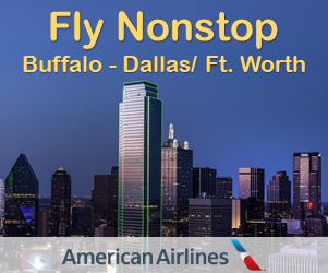 Fly nonstop Buffalo to Dallas/Fort Worth